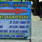 Harga ticket ke GAZEBO tepi Laut