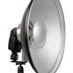 Beauty dish lighting