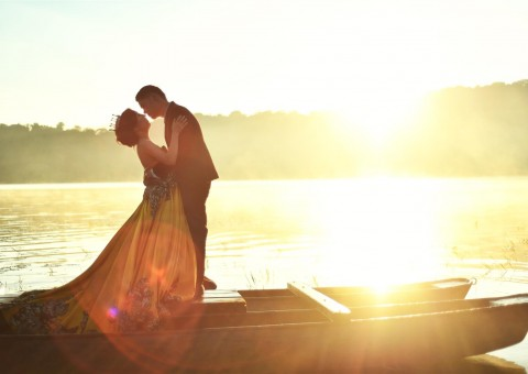Tamblingan Lake foto prewedding